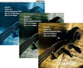 【送料無料】 Bach, Johann Sebastian バッハ / バッハ無伴奏全集 シュタルケル (1957-1959) (3枚組アナログレコード) 【LP】