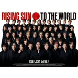 【送料無料】 EXILE TRIBE / RISING SUN TO THE WORLD【初回生産限定盤】(+DVD) 【CD Maxi】