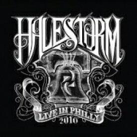 【送料無料】 Halestorm ヘイルストーム / Live In Philly 2010 (Rog Ltd)(No Orders Accepted After 11 / 13) 【LP】