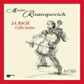 【送料無料】 Bach, Johann Sebastian バッハ / 無伴奏チェロ組曲 ムスティスラフ・ロストロポーヴィチ (4枚組 / 180グラム重量盤レコード) 【LP】