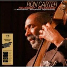 【送料無料】 Ron Carter ロンカーター / Foursight: Stockholm (2枚組 / 180グラム重量盤レコード) 【LP】