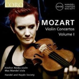 【送料無料】 Mozart モーツァルト / ヴァイオリン協奏曲第3番、第4番、協奏交響曲 アイスリン・ノスキー、マックス・マンデル、ヘンデル&ハイドン・ソサエティ 輸入盤 【CD】