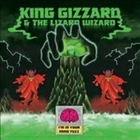 【送料無料】 King Gizzard & The Lizard Wizard / I'm In Your Mind Fuzz Exclusive Lp (Black In Clear With Green & Red Splatter Vinyl) 【LP】