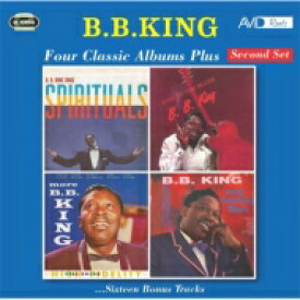 B.B. King ビービーキング / Four Classic Albums Plus 輸入盤 【CD】