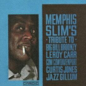 Memphis Slim / Tribute To Broonzy. Carr. Davenport 【CD】