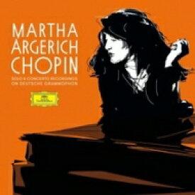 【送料無料】 Chopin ショパン / マルタ・アルゲリッチ/ショパン・ドイツ・グラモフォン録音全集 (5枚組 / 180グラム重量盤レコード / Deutsche Grammophon) 【LP】