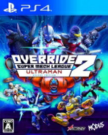 Game Soft (PlayStation 4) / 【PS4】オーバーライド 2:スーパーメカリーグ ULTRAMAN DX Edition 【GAME】
