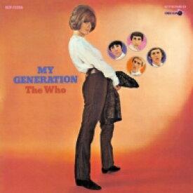 The Who フー / My Generation (国内盤 / 180グラム重量盤レコード) 【LP】