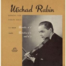 Bach, Johann Sebastian バッハ / Sonata, 3, For Solo Violin: Rabin +ysaye: Sonata, 3, 4, 【LP】