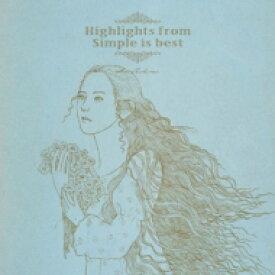 【送料無料】 手嶌葵 テシマアオイ / Highlights from Simple is best 【生産限定盤】(2枚組 / 180グラム重量盤レコード) 【LP】