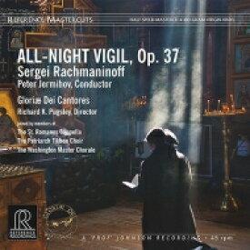【送料無料】 Rachmaninov ラフマニノフ / Vespers: Jermihov / Gloriae Dei Cantores Berezovska Ivanchenko Etc 【LP】