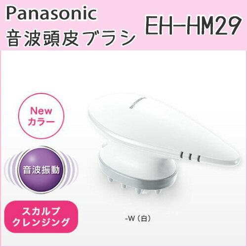 【送料無料】【パナソニック 音波頭皮ブラシ EH-HM29】ヘッドスパ 充電式 コードレス 防水タイプ 海外使用OK AC100-240V対応