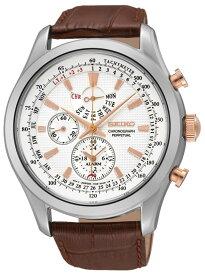 セイコー SEIKO クオーツ メンズ クロノグラフ パーペチュアル 腕時計 SPC129P1