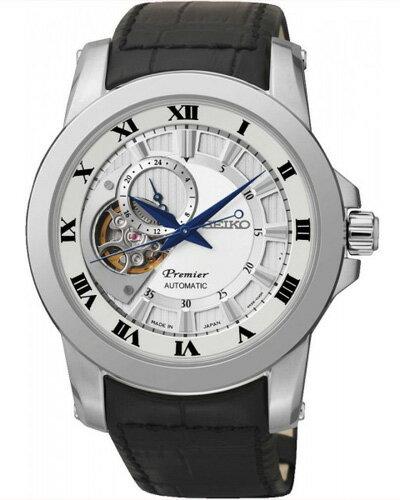 セイコー SEIKO プルミエ Premier 日本製 自動巻 メンズ 腕時計 SSA213J2