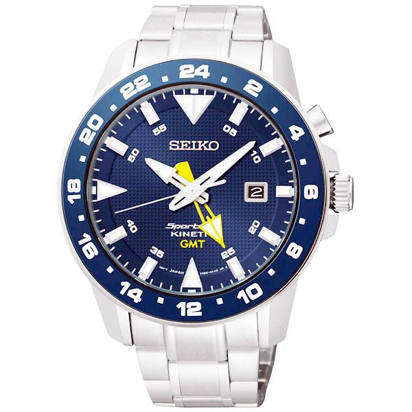 セイコー スポーチュラ キネティック GMT搭載 腕時計 SUN017P1