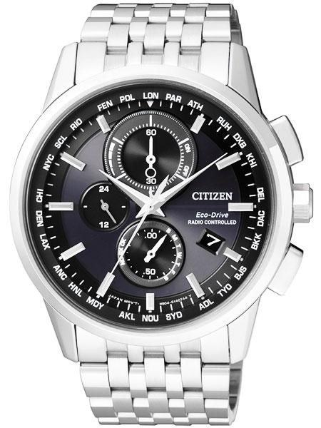 シチズン CITIZEN エコドライブ ソーラー 電波腕時計 サファイアガラス AT8110-61E