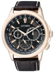 シチズン CITIZEN エコドライブ メンズ ワールドタイム 腕時計 BU2023-12E