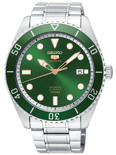 セイコー 5 SEIKO ファイブ スポーツ 自動巻(手巻き付き) 腕時計 SRPB93K1