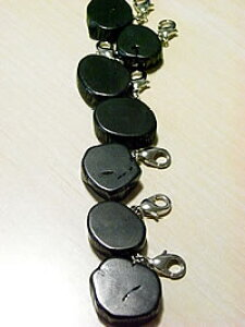 Bincho-tan Charm [Key Holder]備長炭 キーホルダー / チャーム 1個