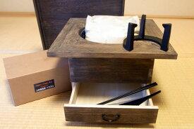 角火鉢 桐(KIRI)火鉢本体+火鉢道具5点 お買得セット※返品・代引不可商品