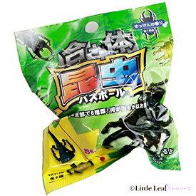 サンタン 合体昆虫バスボール 入浴剤 せっけんの香り 24個入り1BOX