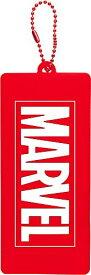 ティーズファクトリー 鏡 ロゴ/レッド マーベル ラバーダイカットミラー MV-5537043RD