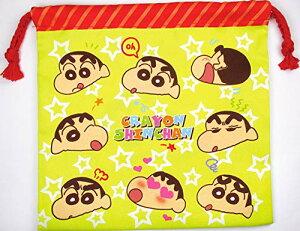 ティーズファクトリー フラット巾着 クレヨンしんちゃん/フェイス 20×20×0.5cm KS-5530078FC