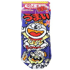 靴下 子供用[うまい棒]キッズ ソックス/めんたい味