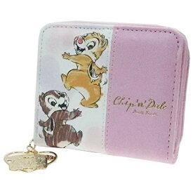 チップ&デール[二つ折り財布]コンパクト ウォレット/ダンス ディズニー