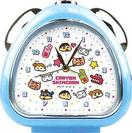 ティーズファクトリー 置き時計 おむすびクロック クレヨンしんちゃん/ビットフェイス 13×13.5×5cm KS-5520215BF