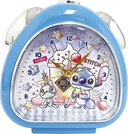 ティーズファクトリー 置き時計 おむすびクロック キャンディドリーム/スティッチ 13×13.5×5cm DN-5520217ST