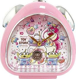 ティーズファクトリー 置き時計 おむすびクロック キャンディドリーム/トイ・ストーリ 13×13.5×5cm DN-5520218TS