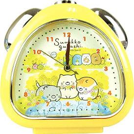 ティーズファクトリー 置き時計 ねこのきょうだい H13.5×W13×D5cm すみっコぐらし おむすびクロック SG-5520222NK