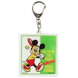 ミッキーマウス[アクリルキーホルダー]キーリング/テニス ディズニー APDS4930