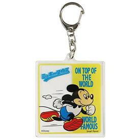 ミッキーマウス[アクリルキーホルダー]キーリング/ランニング ディズニー APDS4931