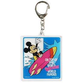 ミッキーマウス[アクリルキーホルダー]キーリング/サーフィン ディズニー APDS4933