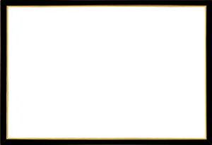 木製パズルフレーム ウッディーパネルエクセレント ゴールドライン シャインブラック(49x72cm)