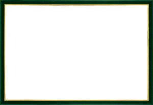 木製パズルフレーム ウッディーパネルエクセレント ゴールドライン シャイングリーン (49x72cm)
