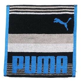 PUMA プーマ[ミニタオル]ジャガードハンカチタオル/PUMA-1920 【ブルー 】