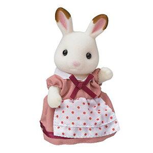 シルバニアファミリー 人形 ショコラウサギファミリー ショコラウサギのお母さん