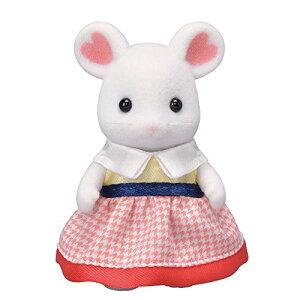 シルバニアファミリー 人形 マシュマロネズミの女の子 ネ-106
