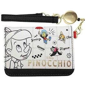 ディズニー[定期入れ]リール付き オープン パスケース/PINOCCHIO ピノキオ