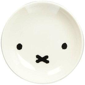 ディック ブルーナ 「 Miffy シンプル フェイス 」 ミッフィー ミニプレート 皿 直径10.5cm 白