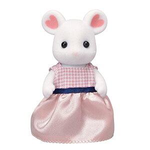 【送料込み価格】シルバニアファミリー 人形 マシュマロネズミのお母さん ネ-104