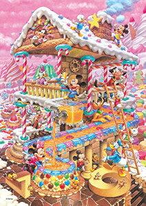 【送料込み価格】266ピース ジグソーパズル ディズニー おかしなおかしの家 ぎゅっとシリーズ 【ピュアホワイト】(18.2x25.7cm)