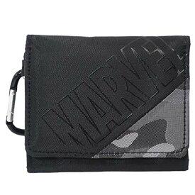 マーベル[三つ折り財布]コンパクトウォレット/ナナメメイサイ MARVEL