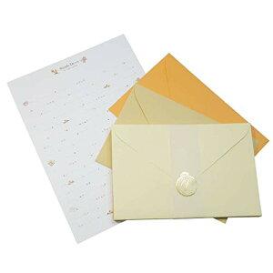 [レターセット]シンプル デコ レター/ラテカラー クラックス 便箋&封筒 手紙セット グッズ 通販