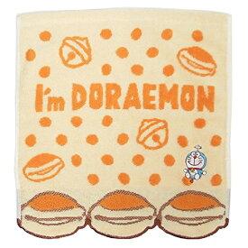 丸眞 ハンドタオル I'm doraemon ドラえもん 25×25cm フライングどらやき 無撚糸使用 綿100% 2805003700