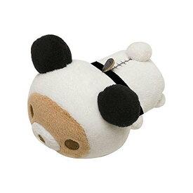 【リラックマ】もちぺったんてのりぬいぐるみ(リラックマ/パンダ)★パンダでごろん★