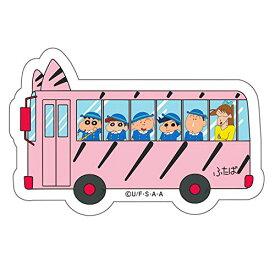 グルマンディーズ バンダイ クレヨンしんちゃん キャラスタムステッカー ようちえんバス ピンク BCYS-04E